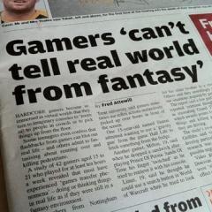 UK Newspaper Runs Series of Yellow Anti-Video Game Articles