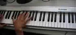 "Play ""Can't Believe It"" by T-Pain & Lil Wayne on piano"