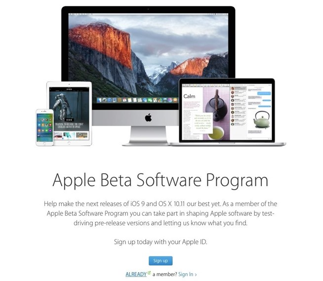How to Sign Up for the iOS 9 Public Beta Preview for iPad ...
