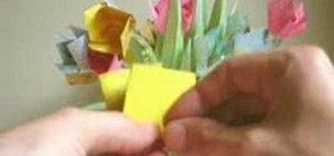 Origamia flower garden bouquet