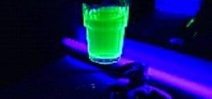 Make water glow