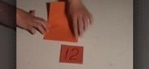 Create a paper pop-up card