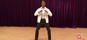 Do basic Bollywood dance moves for beginners