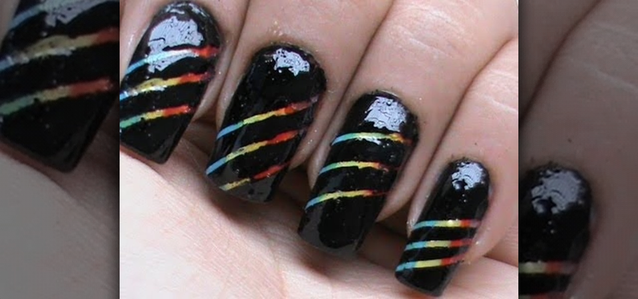 Do Rainbow Striped Nails