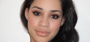 Make your brown eyes pop with makeup
