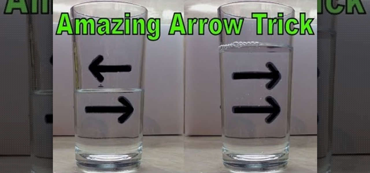Reverse Arrow Trick - Amazing