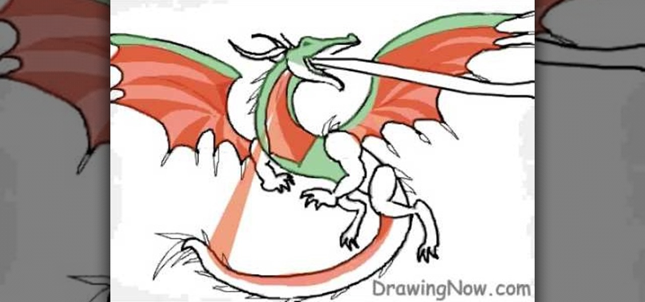 how to draw cartoon dragons