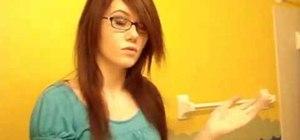 Get emo/scene straight hair style
