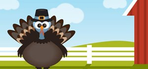 Draw a Thanksgiving turkey in Illustrator step by step