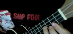 """Playthe song """"Replay"""" by Sean Kingston on ukelele"""