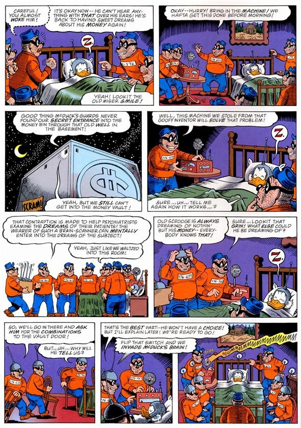 Did Inception Rip Off a Scrooge McDuck Comic?