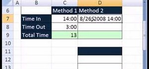 Do advanced time & math calculation in Microsoft Excel