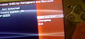 Use Custom Firmware Enabler on a PSP 3000