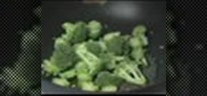 Cook broccoli