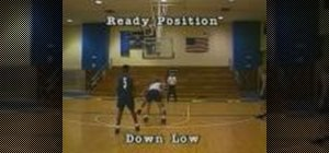 Practice defensive post basketball drills