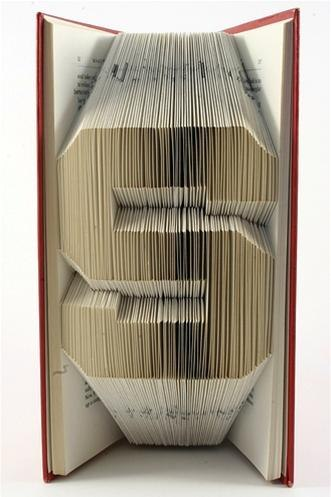 Image image origami alphabet letters origami alphabet instructions - Fastidious Book Art Cut Or Folded 171 Bookmaking