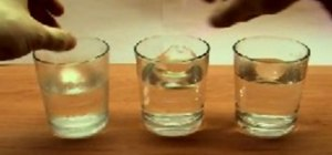 Experiment with fizzy tablets