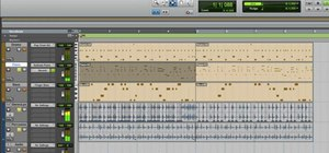 Run a basic recording session in Pro Tools