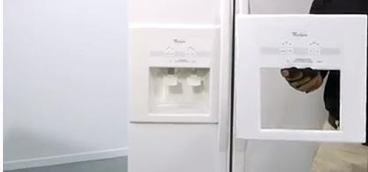 Replace a Refrigerator Dispenser Front Cover