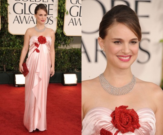 Congrats to Natalie Portman for her Golden Globe Best Actress win!