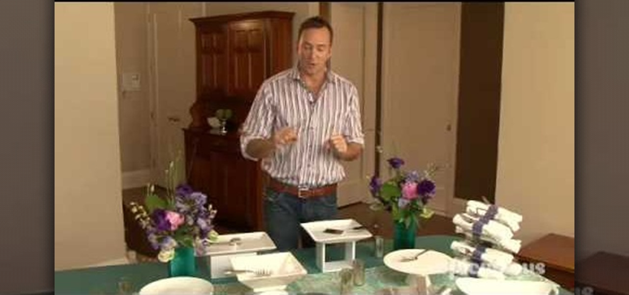 How to Set the buffet table at your dinner party « Table Preparation ...
