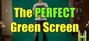 Set up the perfect green screen studio