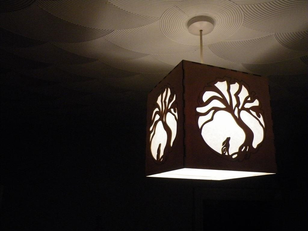 Hare and Moon Lampshade