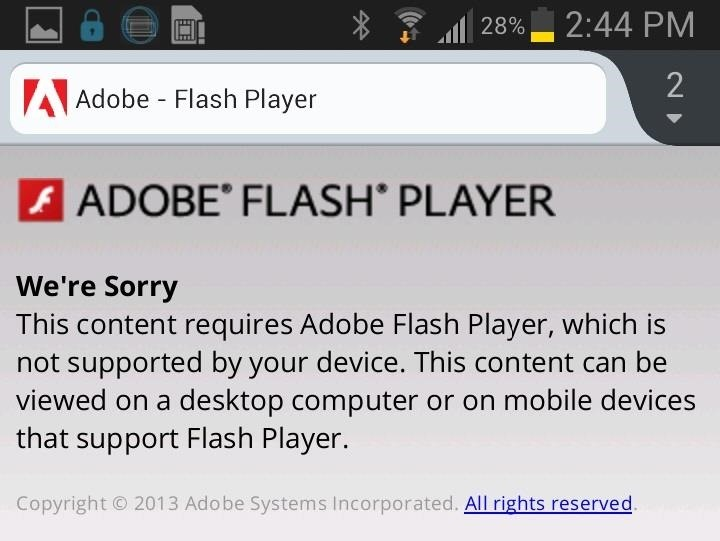 official adobe flash player