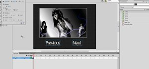 Make your own slideshow in Abobe Flash CS4