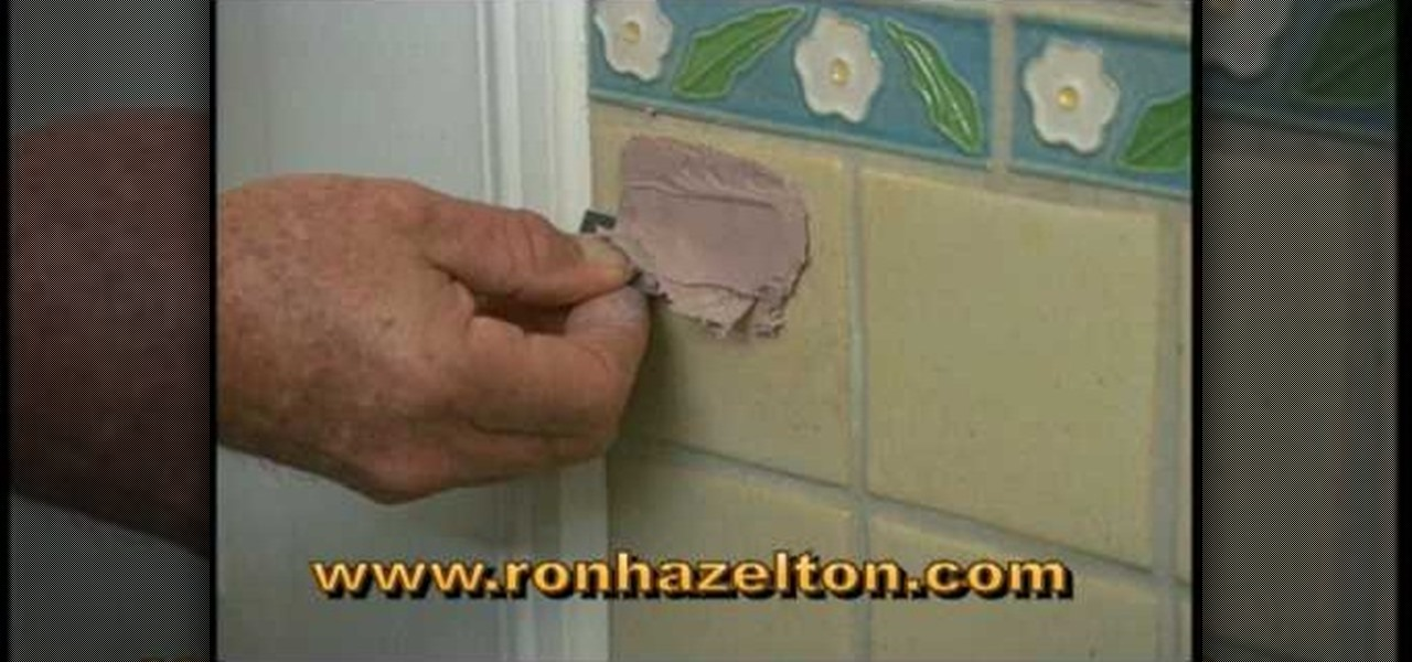 How To Fill And Repair Holes In Ceramic Tile Construction Repair