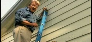 Use an extension ladder safely