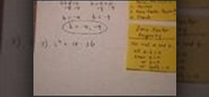 Solve quadratic equations by factoring in math