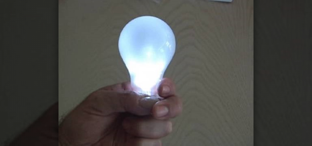 Prank Your Friends With A Magic Light Bulb That Lights Up In Your