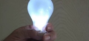 "Prank Your Friends with a ""Magic"" Light Bulb That Lights Up in Your Hand"
