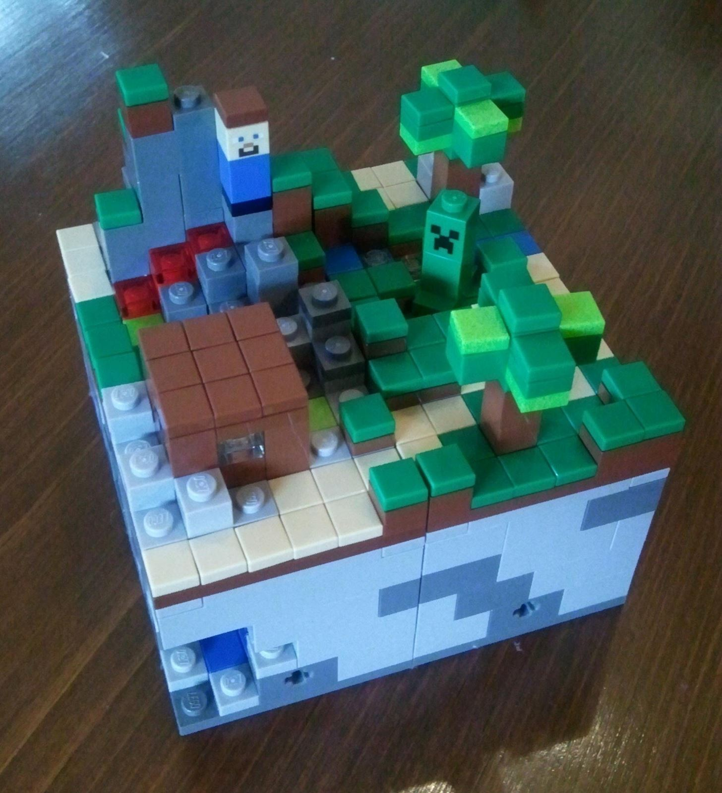 New Minecraft LEGOs for Displaying, Not Playing