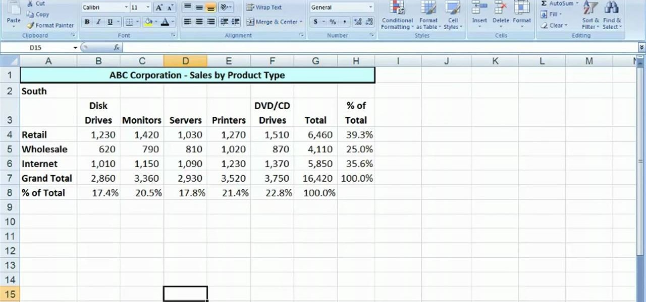 How to Copy and move worksheets in Microsoft Excel 2007 « Microsoft ...