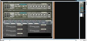 Synthesize multiple drum tracks using Reason 5's drum kit tool