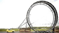 Car Completes World's Largest 360° Loop-the-Loop