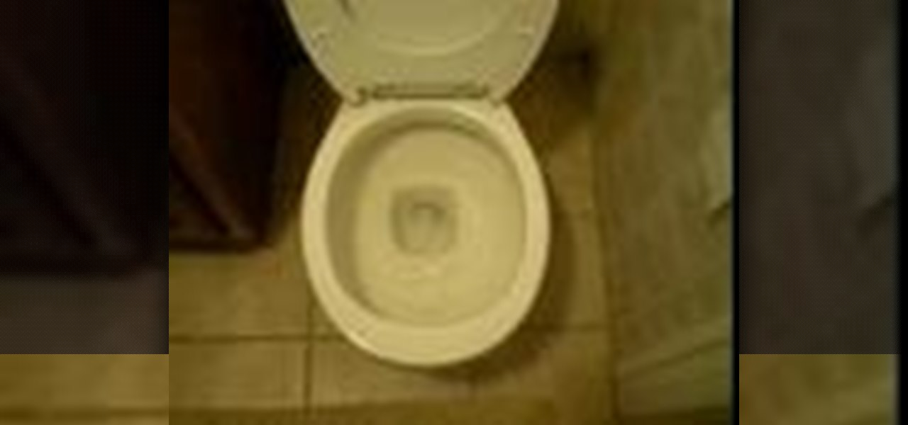 How to Turbo charge a toilet flush « Housekeeping :: WonderHowTo