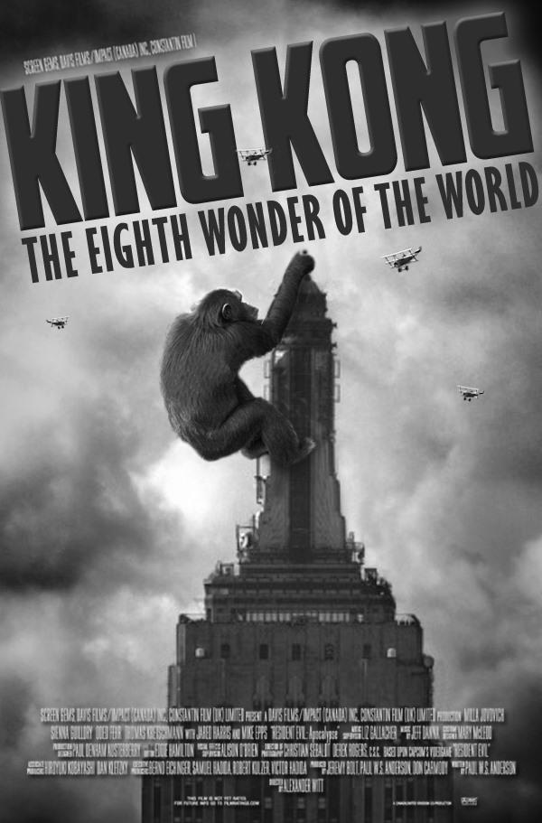 King kong movie poster design - King kong design ...