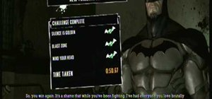 Beat the Silent Knight Predator Challenge in Batman:AA