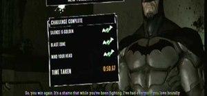 Beat the Silent Knight Predator Challenge in Batman:AA
