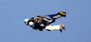 Jetman Flys Over Atlantic with DIY Wings - Plummets!