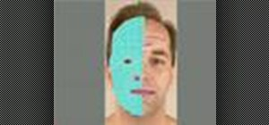 Use splines to model a head in 3ds Max 8