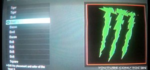 Make a Monster Energy Drink playercard emblem in Call of Duty: Black Ops