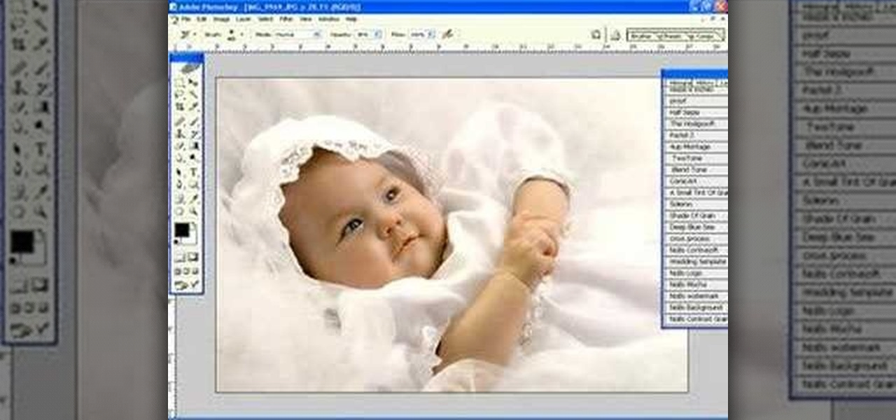 How to get techniques to retouch baby portraits in photoshop photoshop wonderhowto
