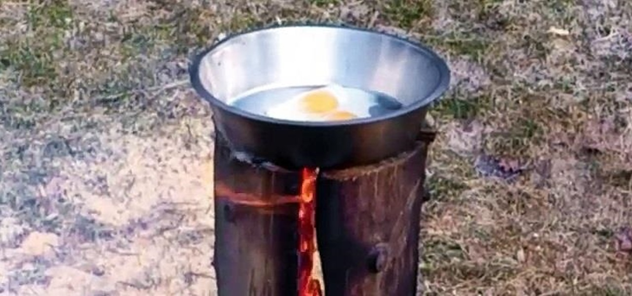 Make a Swedish Torch (AKA Canadian Candle)