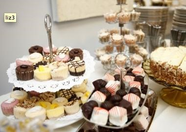 Self-catering a dessert reception