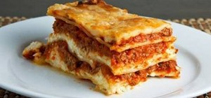 How to make delicious, low calorie lasagna