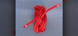 Tie a Turk's Head (Woggle) decorative knot